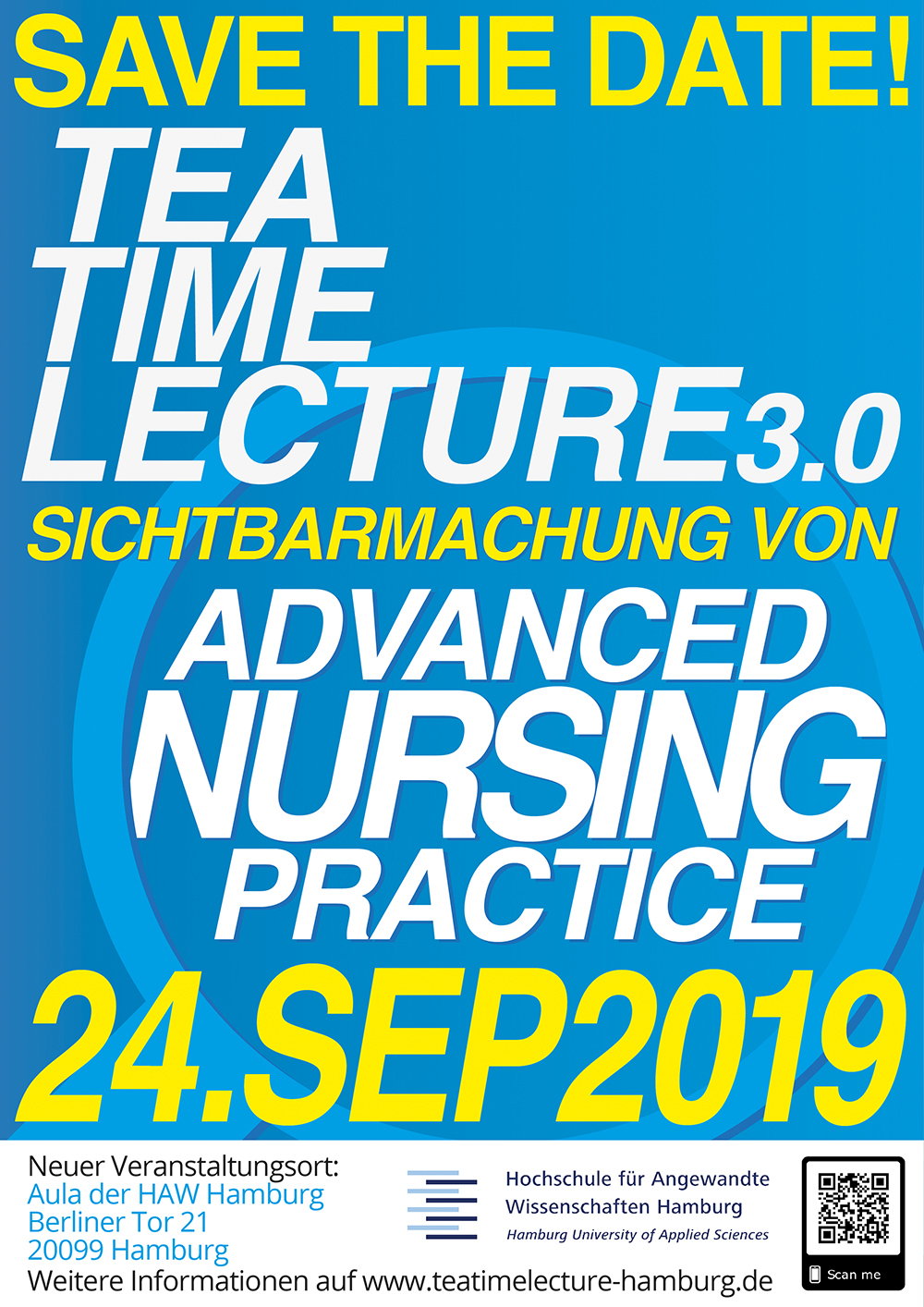 Tea-Time-Lecture (TTL 3.0)  Sichtbarmachung von Advances Nursing Practic @ Aula der HAW